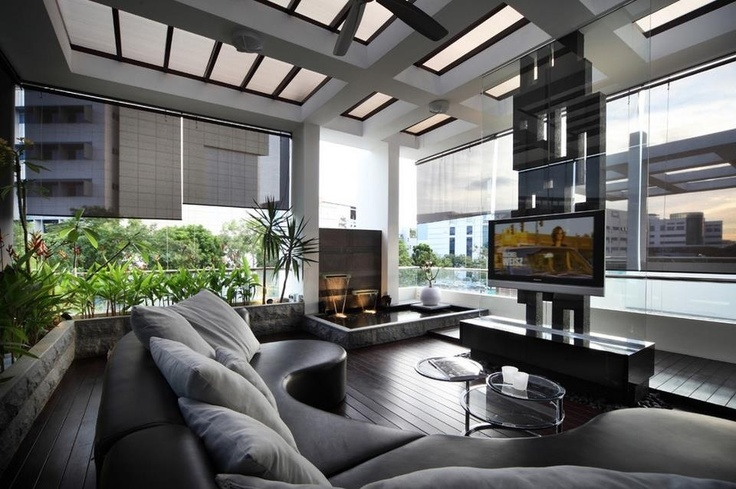 modern and sleek living room design fire pinterest