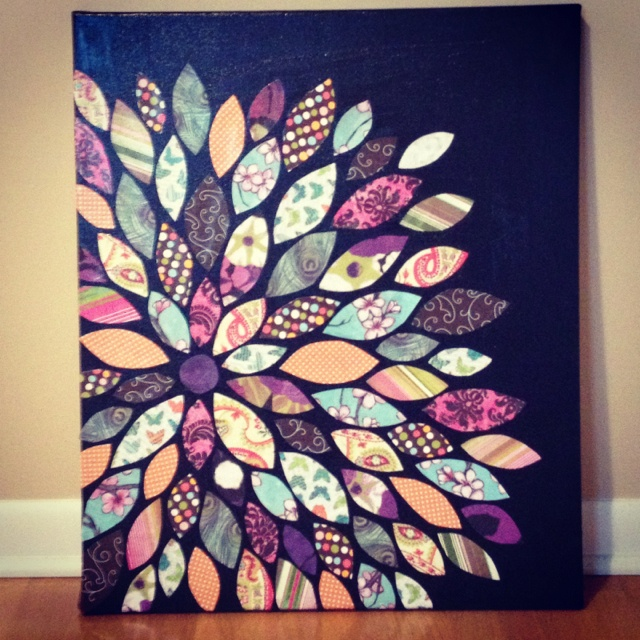 Diy Scrapbook Paper Wall Art Elitflat