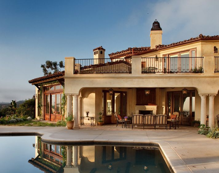 Pin by elysha morrison on homes interior designs pinterest - Tuscan home exterior ...