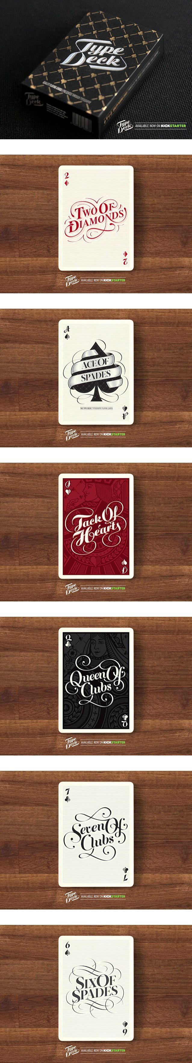 types of playing card decks