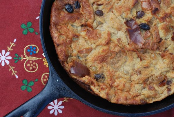 grilled bread pudding | Camping and outdoors | Pinterest