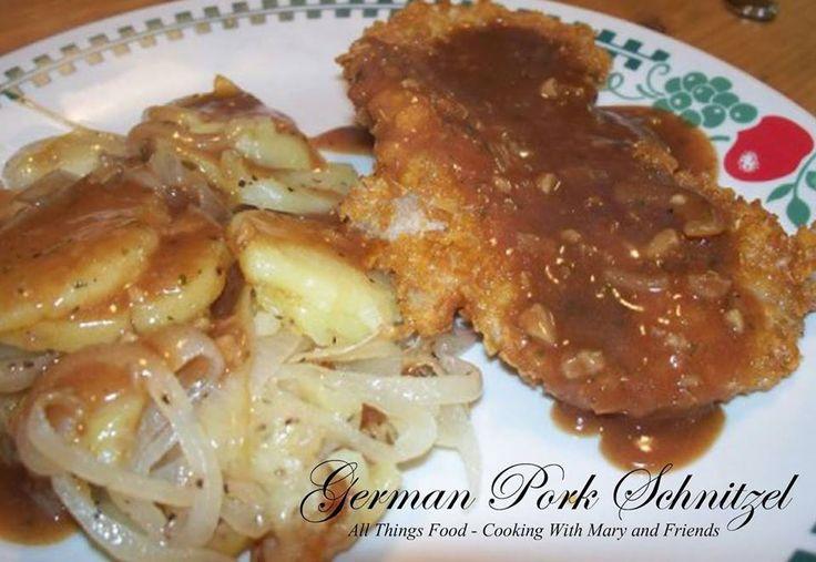 German Pork Schnitzel   *Main Dishes - Pork   Pinterest