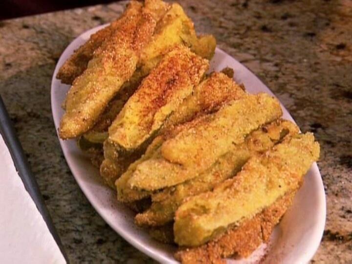 Fried Dill Pickles | Fritters & Oven Baked Vegetables | Pinterest