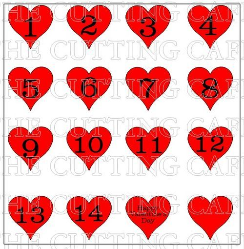 valentine's day calendar templates