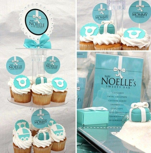 tiffany blue baby shower events pinterest