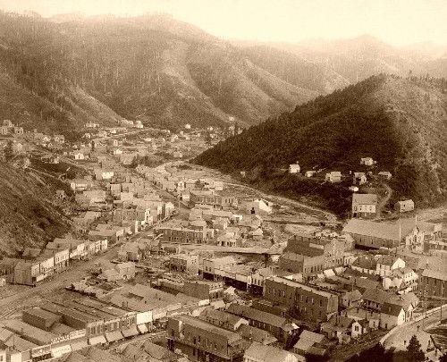 Deadwood south dakota city of deadwood 1888