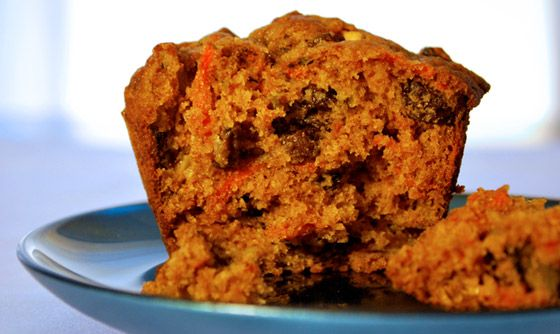 Morning Glory Muffins--these are amazing; they have carrots, raisins ...