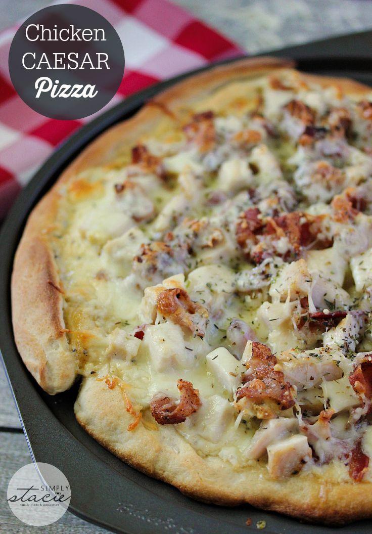 Как приготовить пиццу цезарь в домашних