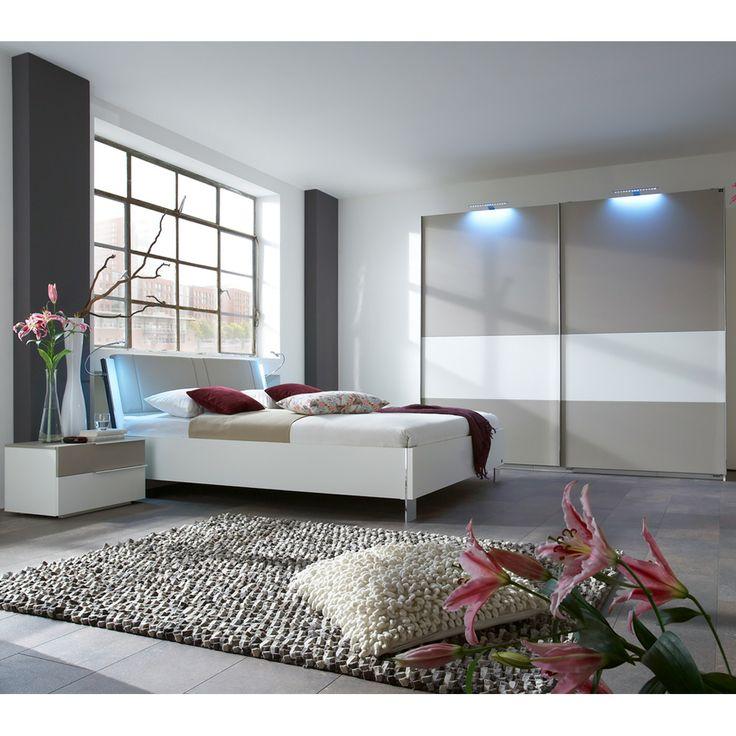 Schlafzimmer grau weiß beige ~ Schlafzimmer Möbel weiß grau Ophra ...