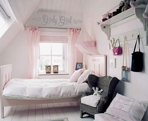 Pink girly rooms girly room ideas pinterest for Bedroom designs girly
