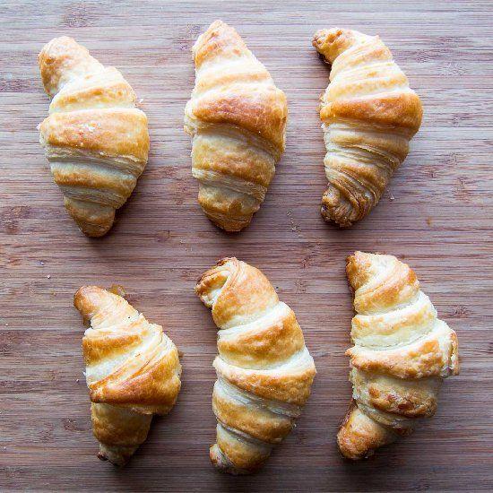 Flaky, buttery Croissants | Razz | Pinterest