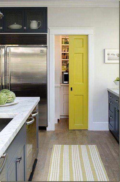 Sliding door for the pantry pocket doors pinterest for Sliding pantry doors
