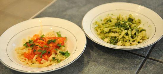 Fresh Pasta + Basic Tomato Sauce Recipes — Dishmaps