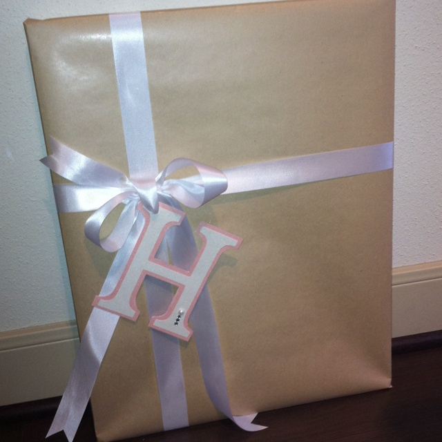 Wedding Gift Wrapping Ideas Pinterest : Simple wedding gift wrapping
