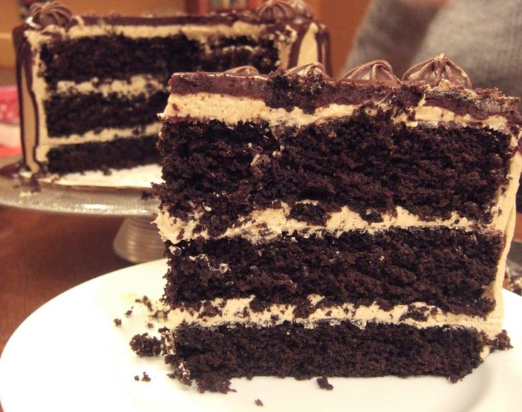 Dark Chocolate And Espresso Mousse Cake Recipes — Dishmaps