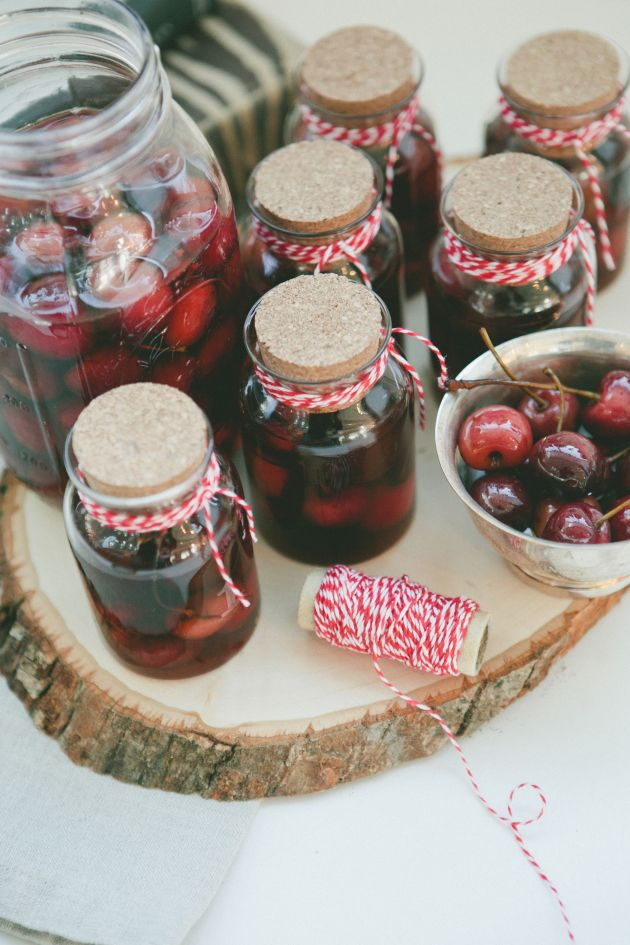 Bourbon Soaked Cherries. | T.O & F.J. & S's Project (Edibles) | P...