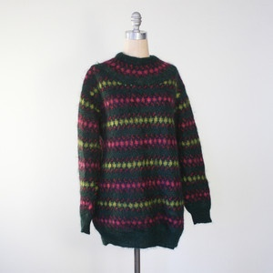 80s Benetton Mohair Sweater, $78, now featured on Fab.