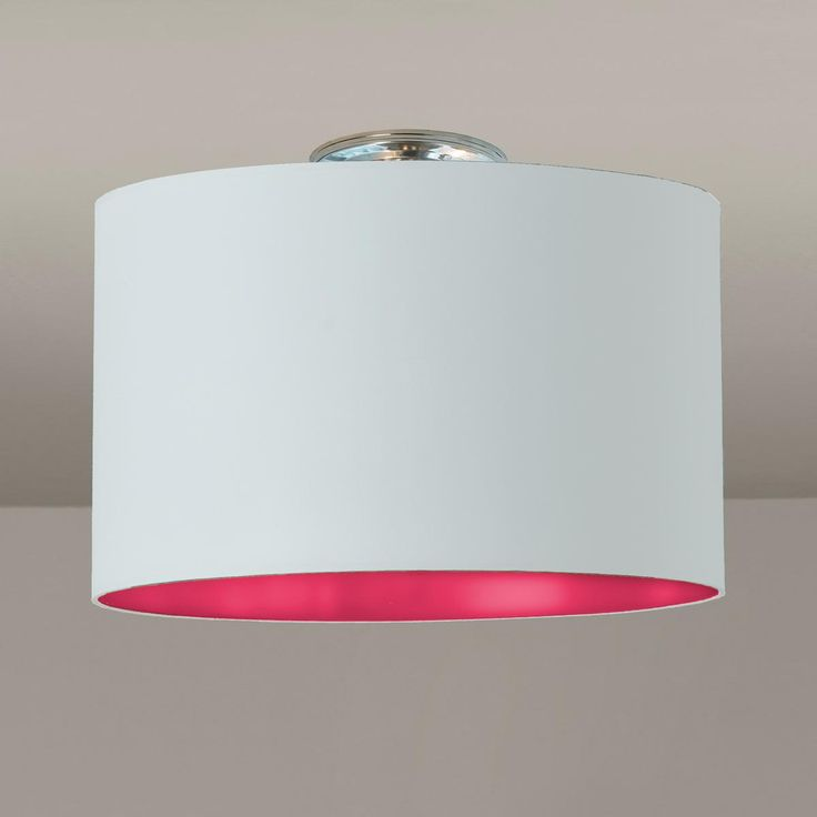 Colored Drum Shade Ceiling Light Available In 7 Colors Aquamarine S