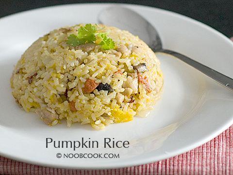 Pumpkin Rice | Grains, Pasta, Beans | Pinterest