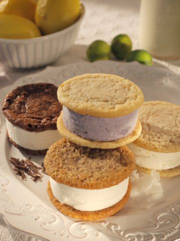 Flavor Ice Cream Sandwich - 8 Pack Key Lime Pie, Coconut Chocolate ...