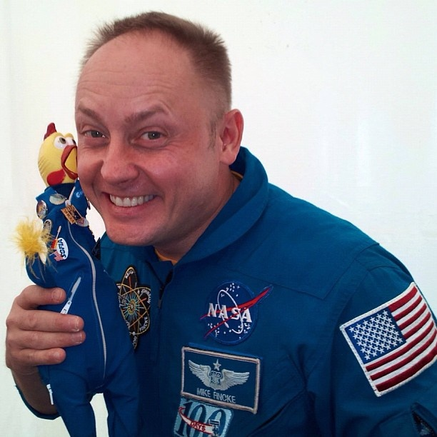 astronaut mike fincke - photo #13