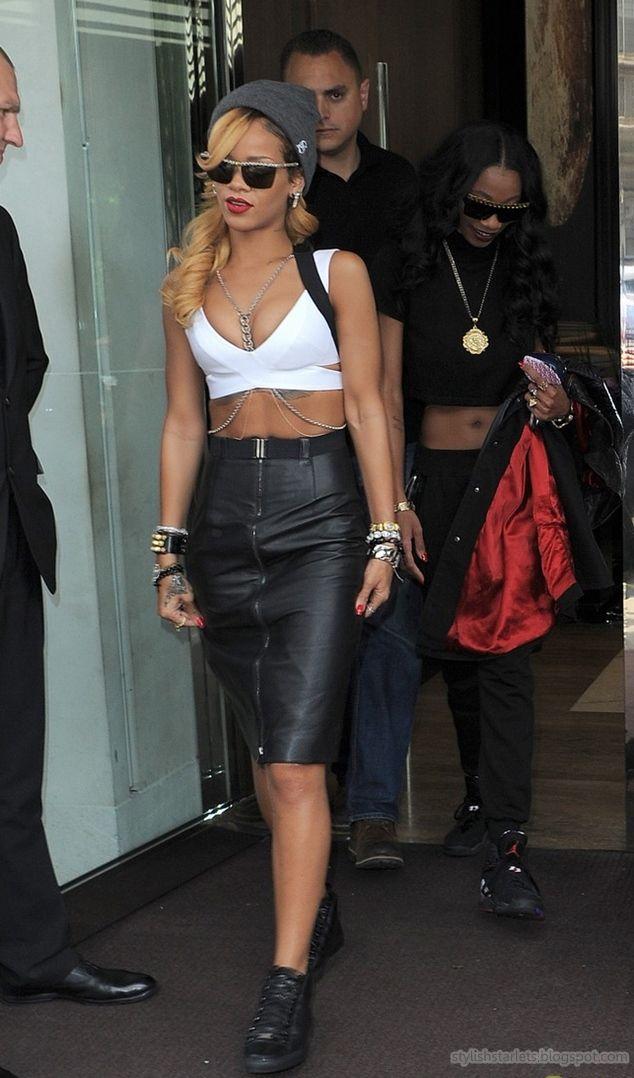 Street Style Rihanna Fashion Pinterest