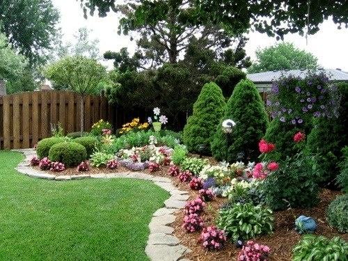 Stone border For the Garden Pinterest