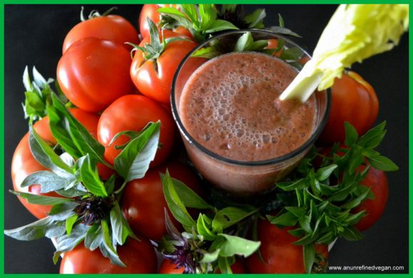 Bloody Mary Green Smoothie. | Culinary Content Network | Pinterest