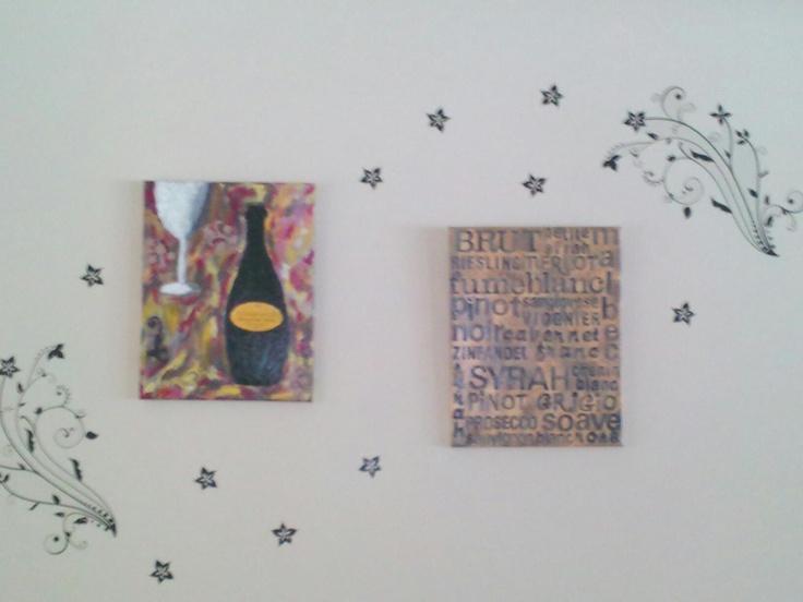 dining room wall decor craft ideas pinterest