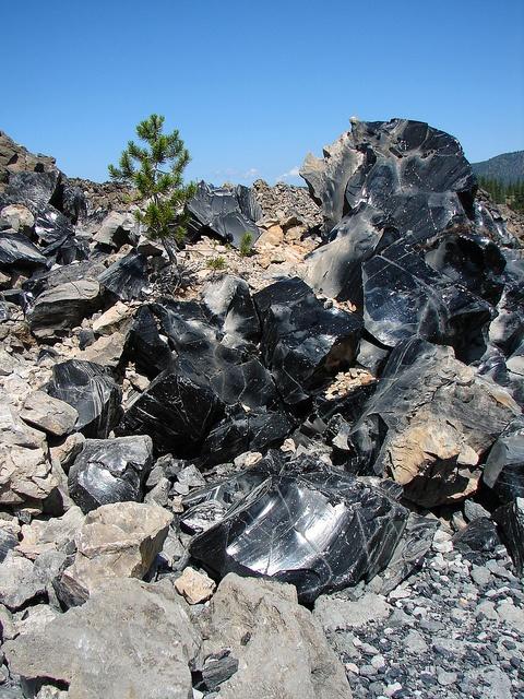 Lava flow Eastern Oregon