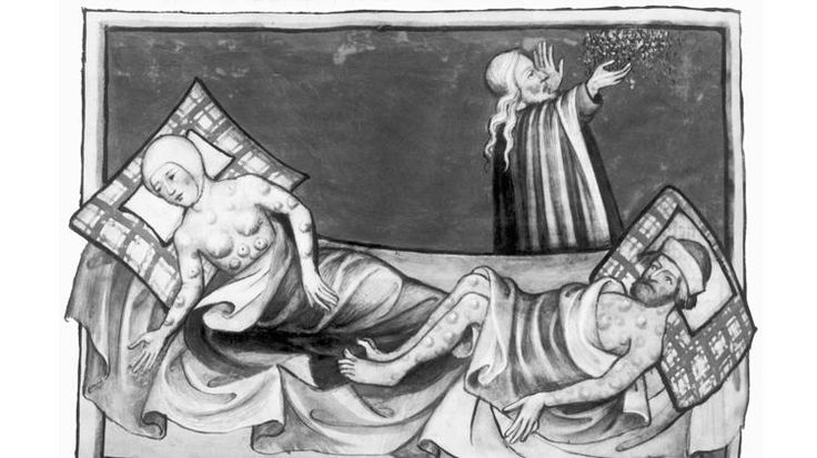 the details of the back death of the 14th century When historians refer to the black death, they mean the specific outbreak of plague that took place in europe in the mid-14th century it was not the first time.