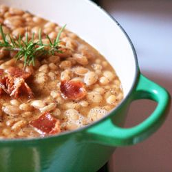 Beer-Baked White Beans. Forget Baked Beans as you know them. These ale ...
