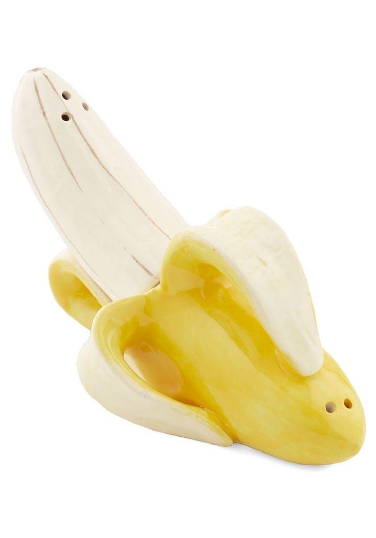 Banana Salt Pepper Shakers Cute Salt And
