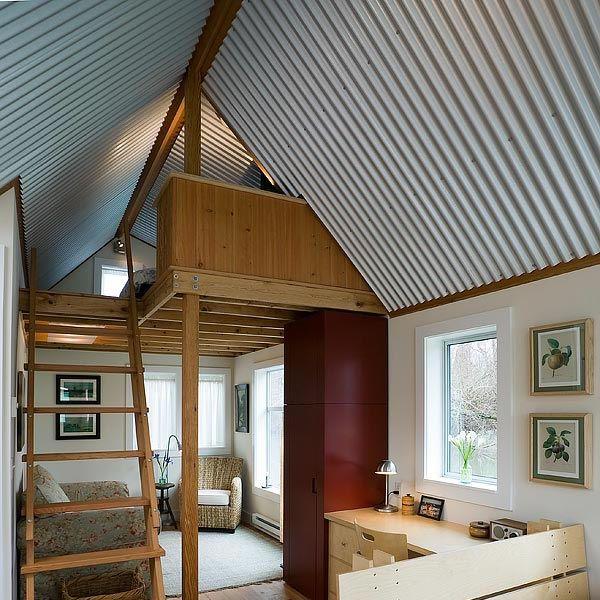 What do you think of a corrugated metal ceiling? - http://www ...