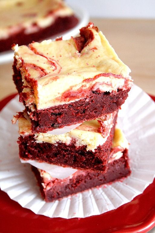 red velvet cheesecake swirl brownies | Open Mouth. Insert Food. | Pin ...