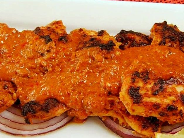 Tandoori Chicken (I also made this for Indian night and everyone ...