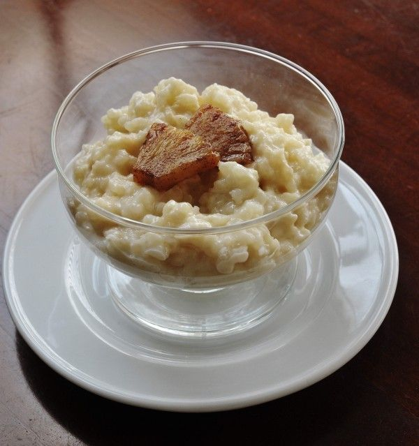 Coconut Rice Pudding With Caramelized Pineapple...just made this and ...