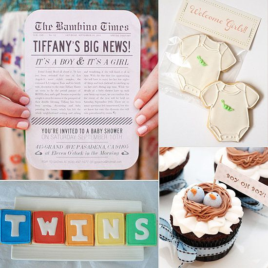 14 so cute twin baby shower ideas baby showers pinterest