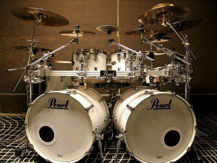 John Bonham Drum Set Up