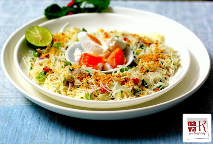 chili kerabu salad recipes dishmaps coconut and chili kerabu salad ...