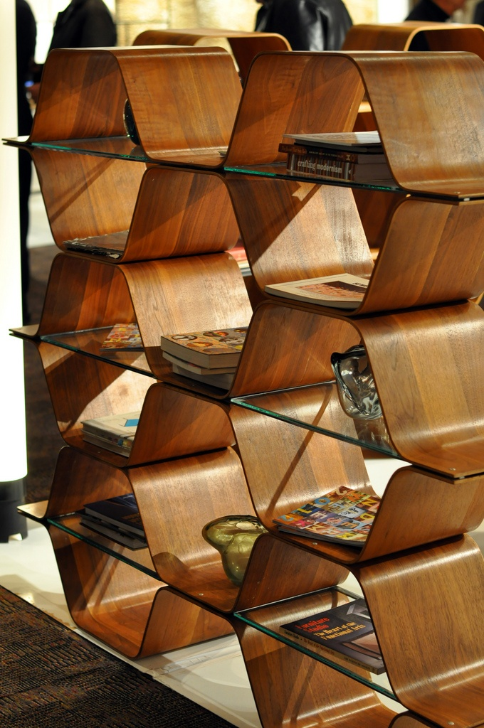 awesome hex shelves