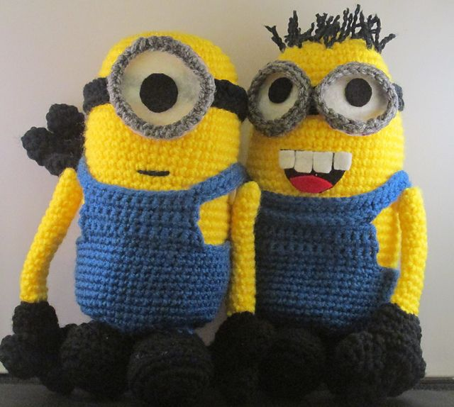 Crochet Patterns Minions Despicable Me : Pin by Ruth & The Polar Bear on FREE Amigurumi Patterns ...