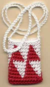 CROCHET NECKLACE POUCH ? Only New Crochet Patterns