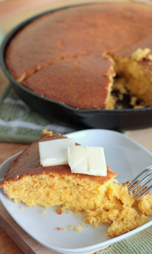 Easy cornbread recipe | Recipes | Pinterest