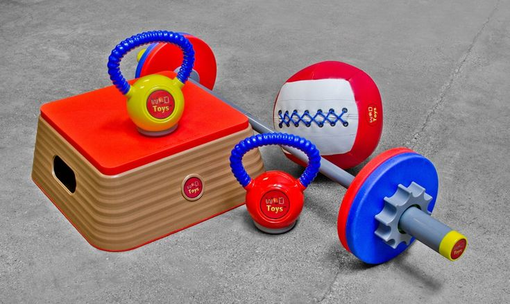 WOD Toys! Give them the tools to imitate your best moments™
