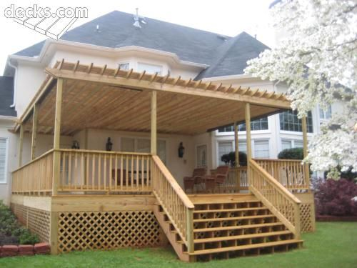 Image Result For Building An Elevated Deck
