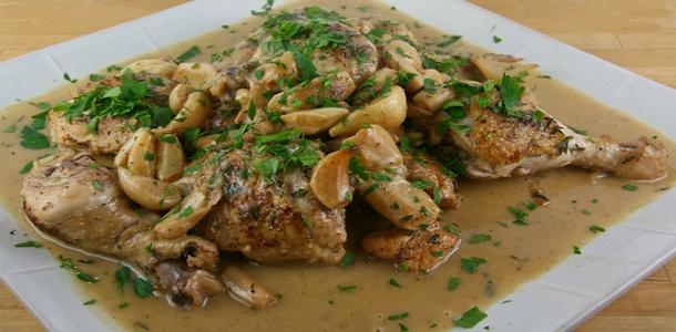 40 cloves in a Roast Chicken | Recipes - Chicken/Turkey | Pinterest