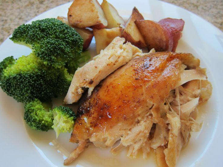 Slow Cooker roast chicken - delicious! | foodie fun | Pinterest