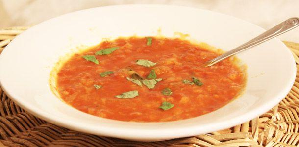 tomato bread soup | Vegan Food | Pinterest