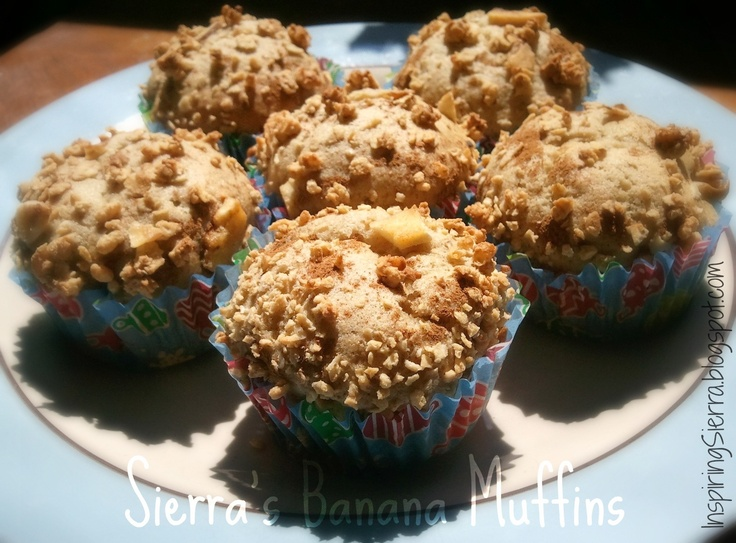 Easy banana muffins :) | Cookies/muffins | Pinterest